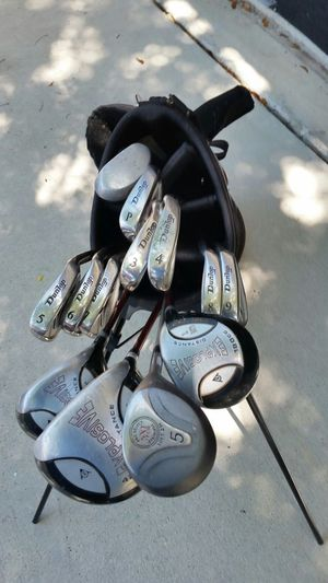 Golf Clubs Dunlap with Bag for Sale in Boynton Beach, FL