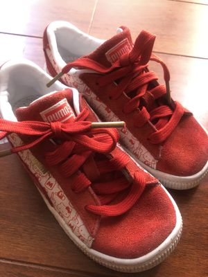 Hello Kitty Puma sneakers size 10C excellent condition. for Sale in Brier, WA