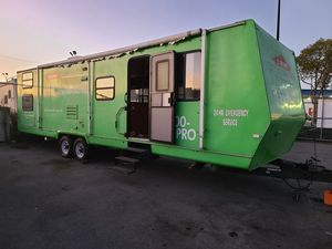 2002 RV TRAILER EXTENDED CAB, CASH OR TRADE for Sale in Chula Vista, CA