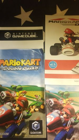 Mario Kart Double Dash Manual Only (Gamecube) for Sale in Houston, TX