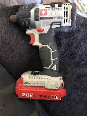 Porter Cable Impact Drill and Charger for Sale in Salem, OR