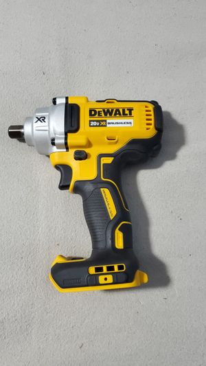 Dewalt 20V Max XR Brushless 1/2in Mid Torque impact wrench. TOOL ONLY. New and unused. Price firm for Sale in Indianapolis, IN
