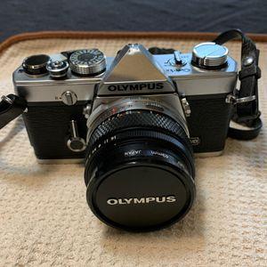 Olympus OM 1n Camera/2 lens for Sale in Dallas, TX