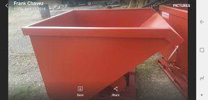 2 yards metal dump hopper 4 forklift bocat for Sale in Kennedale, TX