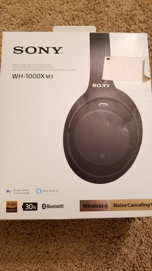 Sony WH-1000X M3 for Sale in Neenah, WI