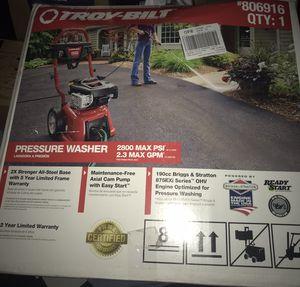 Troy Bilt Pressure Washer w Stratton and Briggs Engine for Sale in Brockton, MA