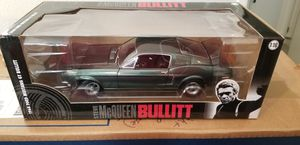 Steve McQueen Bullitt 1/18 Car Model. New in box. $30 for Sale in Alameda, CA