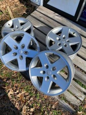 Jeep Wrangler wheels only w/ tpms for Sale in Chester, VA