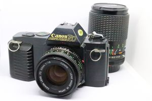 Vintage Canon T50 w/2 lenses for Sale in Phoenix, AZ