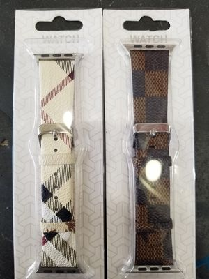 2 x Apple watch bands for 38,40,42 and 44mm for Sale in Rancho Cordova, CA