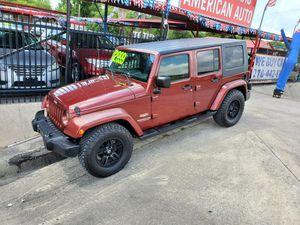 2007 Jeep Wrangler 2wd unlimited Sahara for Sale in San Antonio, TX