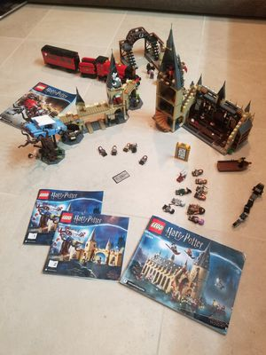 LEGO Harry Potter collection 3 sets for Sale in Las Vegas, NV