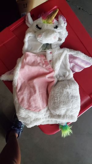 6 mos. Baby unicorn costume for Sale in Sunnyvale, CA