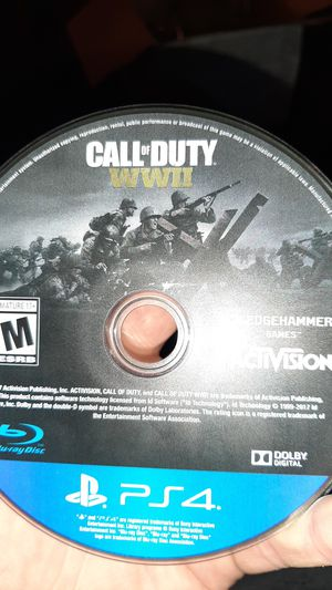 Call of duty WWII (DISC ONLY) for Sale in Naperville, IL