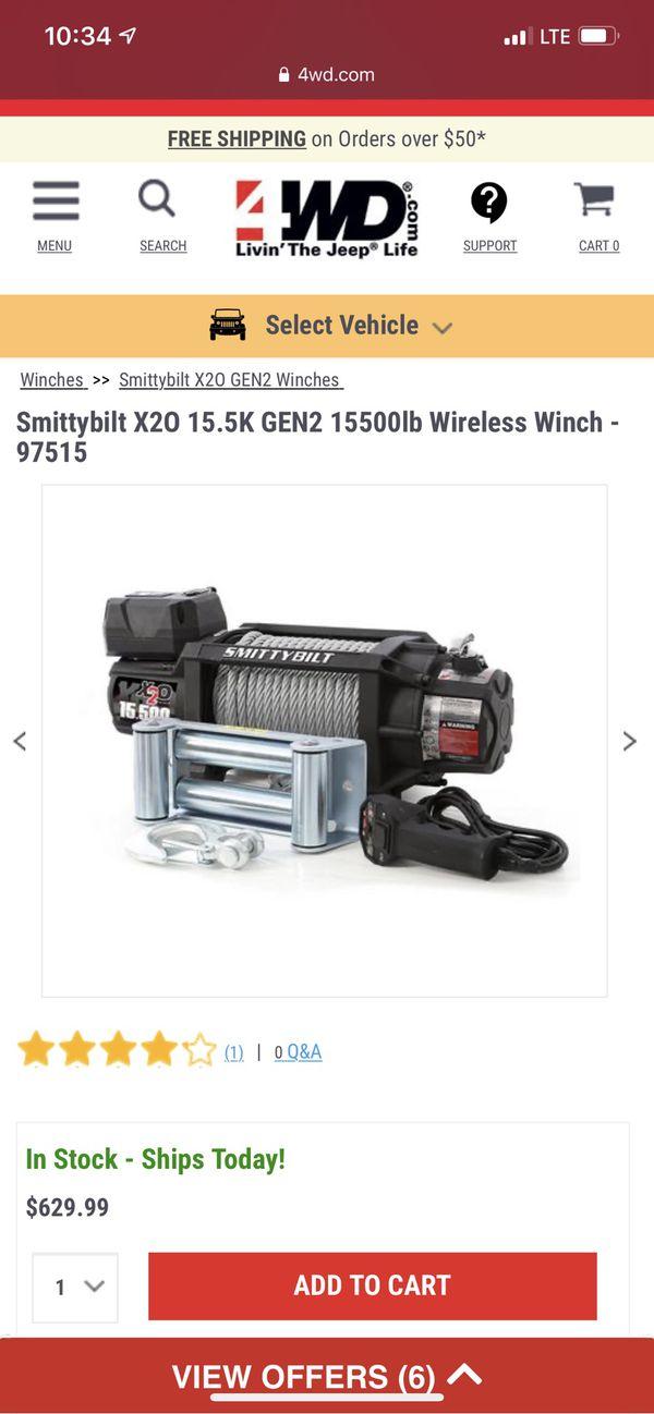 SMITTYBILT 15500 LBS WINCH