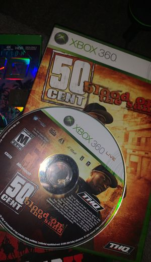50 cent blood on the sand on Xbox 360 ( classic ) for Sale in Las Vegas, NV