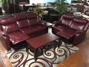 Sofa love seat recliners! Brand new for Sale in Chicago, IL