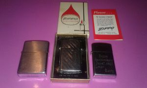 Three Vintage Zippo Lighters. for Sale in Chesnee, SC