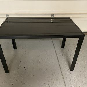 Black Glass Top Table for Sale in Eastvale, CA