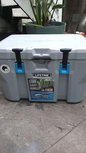 Lifetime 55-quart Cooler for Sale in San Francisco, CA
