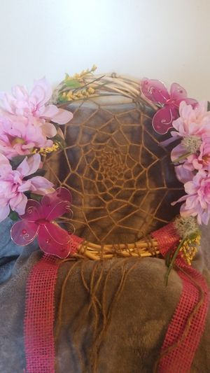 Cancer Awareness pink dream catcher for Sale in HILLTOP MALL, CA