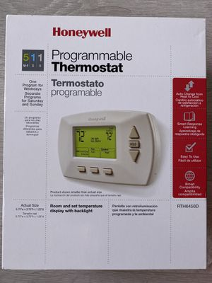 Honeywell Programmable Thermostat for Sale in Washington, DC