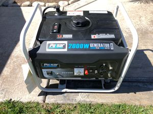 New Generator - 2000W used only Two times for Sale in Fontana, CA