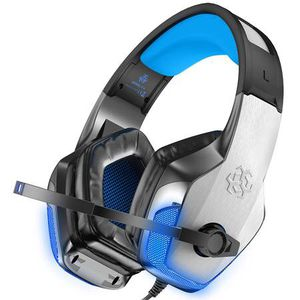 V-4 [Updated] Gaming Headset for Xbox One, PS4, PC, Controller, Noise Cancelling Over Ear Headphones with Mic, LED Light Bass Surround Soft Memory Ea for Sale in Pomona, CA