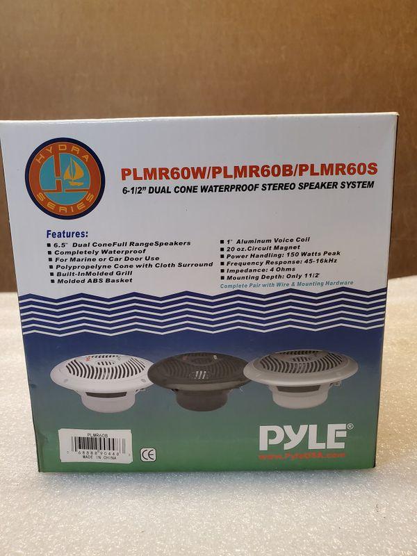"""PYLE 4"""" marine speakers"""