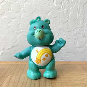 Vintage Care Bears Wish Bear Collectable Pose able Figure Toy for Sale in Elizabethtown, PA