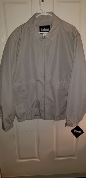 Men's Totes Microfiber Jacket SIZE LARGE BRAND NEW WITH Tags for Sale in Taylor, MI