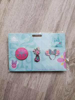 Minnie Mouse:The Main Attraction Pin Set for Sale in Berlin, NJ