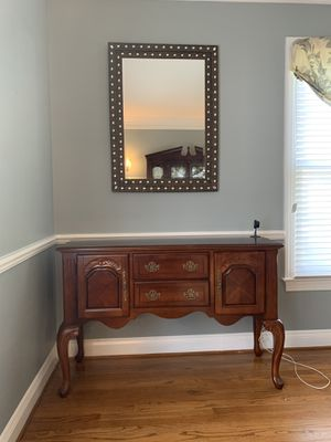 Buffet and Mirror for Sale in Fairfax Station, VA