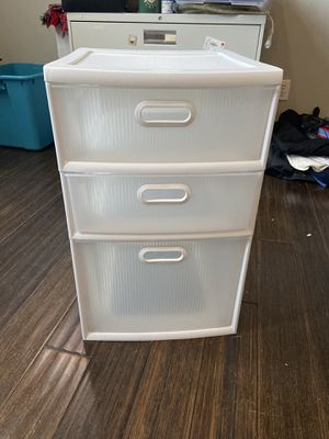 Sterilite 3 drawer container for Sale in Westminster, CO