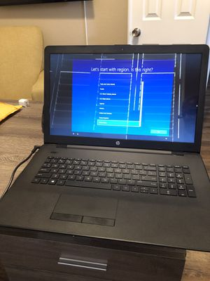 HP COMPUTER MODEL 17-ak013dx for Sale in Thornton, CO