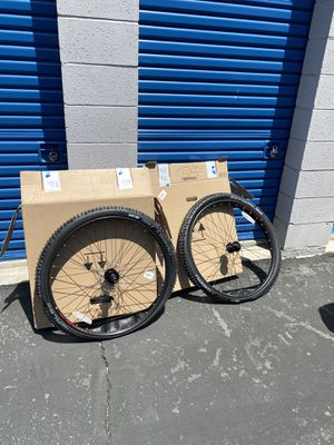 New** WTB STP i25 29er wheelset with Schwalbe Nobby Nic for Sale in Rosemead, CA