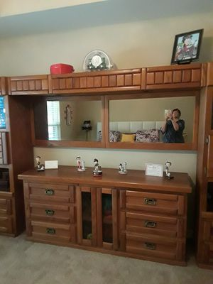 Rustic Solid Oak Wall Bed for Sale in Gilmer, TX
