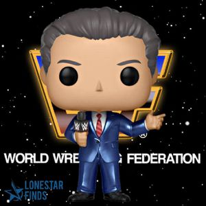 Funko POP! WWE 80's Mr Vince McMahon as Announcer Collectible Toy Figure! for Sale in Universal City, TX