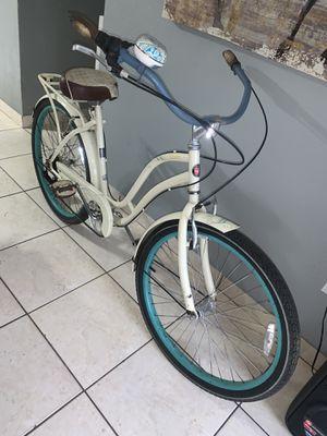 Bike big girl beach crusier bike rim 26 frame large for Sale in Hialeah, FL
