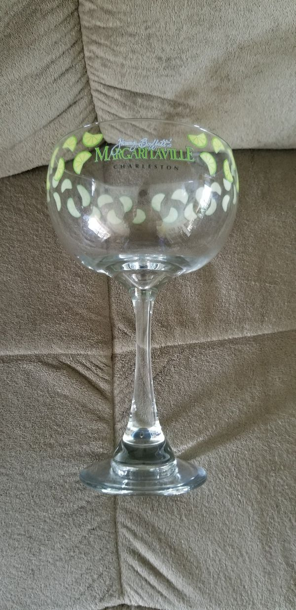 Jimmy Buffett's Margaritaville Margarita Glass 10 Inch
