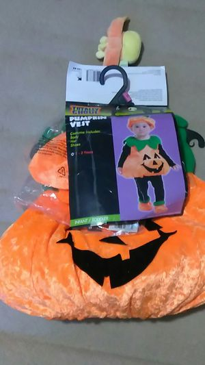 Pumpkin Vest Halloween Costume for Sale in Jacksonville, FL