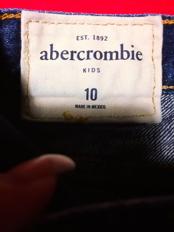 Like New! Abercrombie & Fitch Kids Jeans Size 10