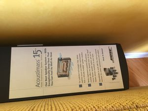 Bose Acoustimass 15 Surround System for Sale in Chicago, IL