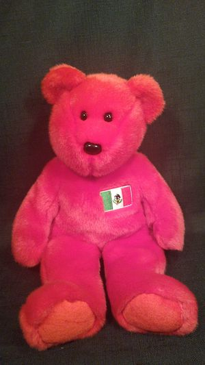 """Ty Beanie Buddies Red Mexican Plush Teddy Bear 13"""" for Sale in Tacoma, WA"""