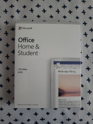 Microsoft office home and student for mac for Sale in South Gate, CA