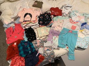 Large baby girl clothing lot for Sale in Puyallup, WA
