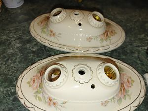 1960 vintage porcelain ceiling lamps for Sale in Boston, MA