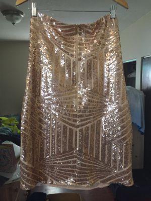 Rose gold mini dress for Sale in Miami, FL