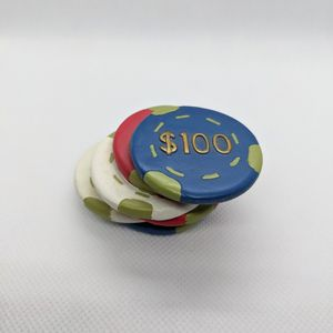 Poker Chips Paperweight for Sale in East Northport, NY