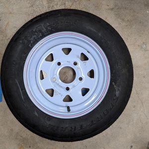 5.30-12 Carlisle SPORT Trail LH Trailer Wheel & Tire for Sale in West Palm Beach, FL